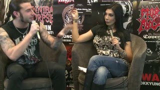 Lucifer's Child Interview at Inferno Metal Festival 2016