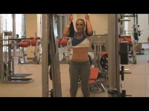 Lindsey Vonn Under Armour Work Out