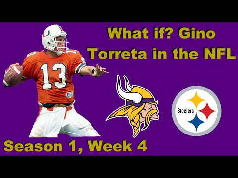 What If? - Gino Torreta In  The NFL - Episode 3, Season 1, Week 4 Vs Steelers