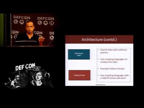 DEF CON 23 - Vivek Rakmachandran - Chigula: Framework for Wi Fi IDS and Forensics