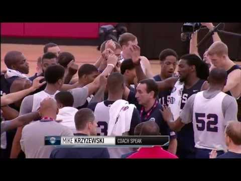 All access coach k wired at the usa basketball mens national team training camp
