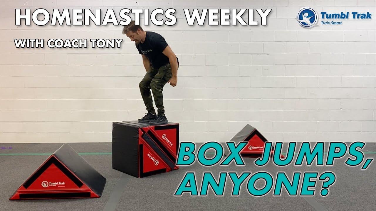 Homenastics™ Weekly - Box Jumps Anyone?