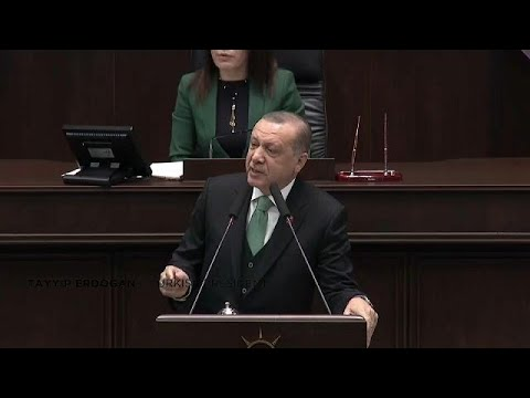 """Turkish president threatens US forces in Syria with an """"Ottoman slap"""""""