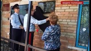 В Пограничном открыли памятную доску знаменитому милиционеру района