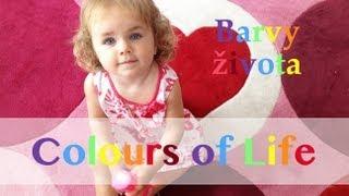 BARVY ŽIVOTA - Krásné písničky pro děti v angličtině. Detské pesničky. účinkuje: Niki a Sofinka