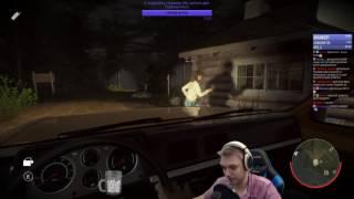 Friday the 13th: The Game - Безумные мансы от Тома 72hrs на машине!