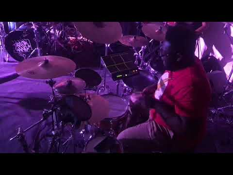 """INTENSE DRUM SHED! """"The Boss Round"""" Mike Nelson's Birthday Shed Pt1 Ft Kwesi Robinson & Tre Chandler"""