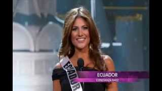 2013 Miss Ecuador Universe Preliminary Competition