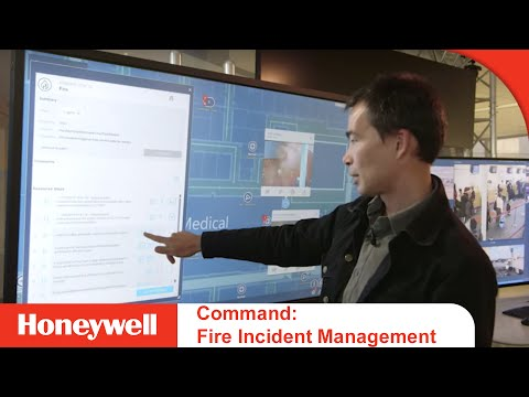 Fire Incident Management With The Honeywell Command And Control Suite