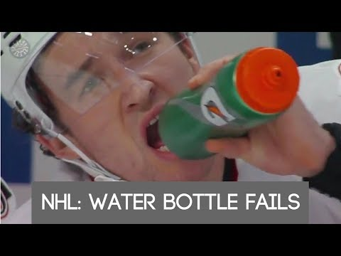 NHL: Water Bottle Fails