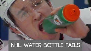 NHL: Water Bottle Fails