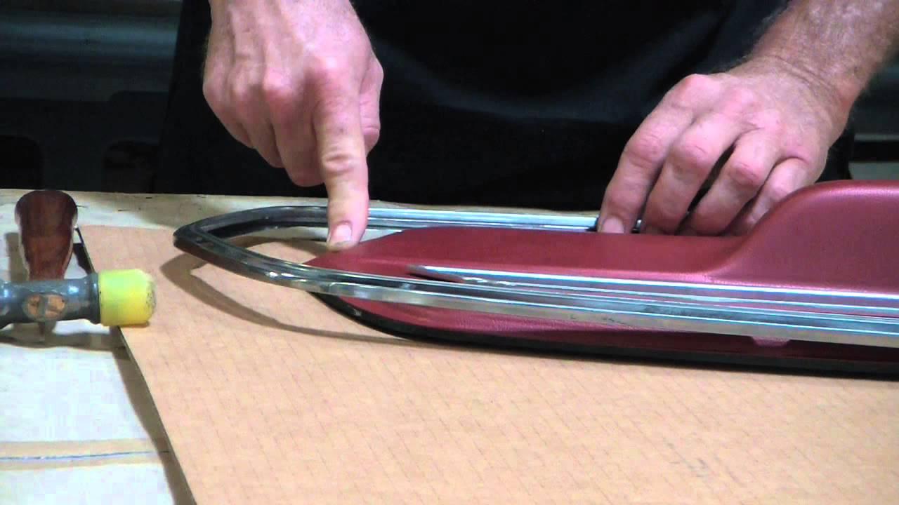 Scott Drake Mustang Door Panels Assembly Youtube