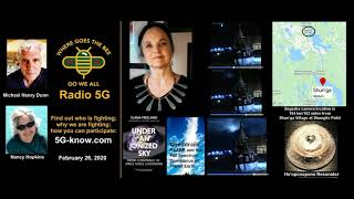 """Radio 5G"" 2/26/20 - Elana Freeland & the Shungite Meteorite"