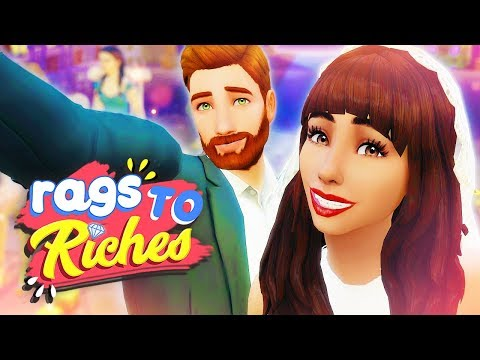 WEDDING MAKEOVERS!!! 😍👰🏽 // The Sims 4: Rags To Riches #26