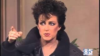 Grace Slick on Daytime Talk Show in 1984