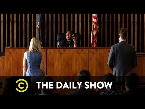 The Daily Show - Outrage Court: Trigger Warnings