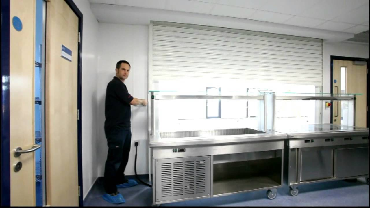 Roller Shutter Kitchen Doors Kitchen Roller Shutter Youtube