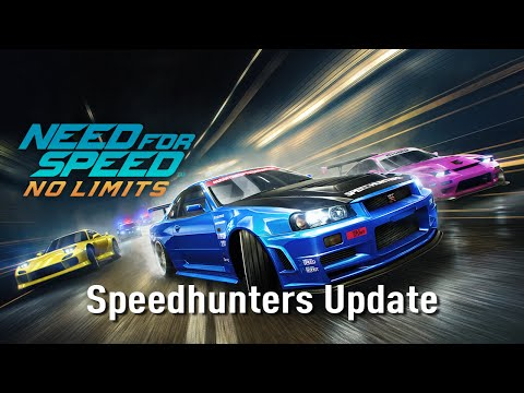 Need for Speed No Limits Speedhunters Update Official Trailer