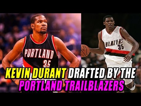KEVIN DURANT DRAFTED BY THE PORTLAND TRAILBLAZERS - What If Rebuild - NBA 2K17 MY LEAGUE