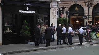 Una banda de atracadores roba una joyería en el centro de París