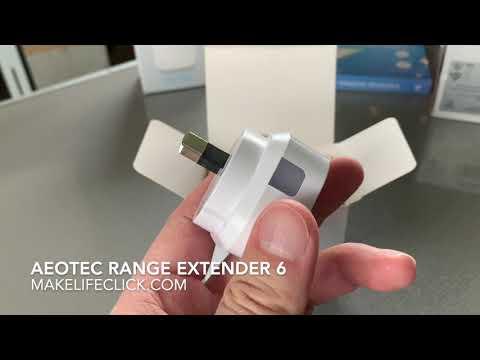 AEOTEC RANGE EXTENDER 6 - UNBOXING & REVIEW