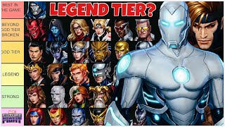 A New LEGEND EMERGES.. The community was WRONG? IRON MAN STRONGER THAN GAMBIT.. Marvel Future Fight screenshot 3