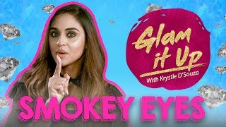 smokey eyes with krystle d souza   glam it up