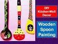 wooden Spoon Painting \ Beautiful kitchen Decor Ideas \ Cutest Gift Ideas
