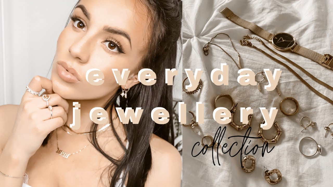 MY EVERYDAY JEWELLERY COLLECTION   affordable dainty gold jewellery   Ft. Jeulia Jewellery
