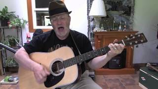 1216 - A Little Bitty Tear - Burl Ives cover with chords and lyrics