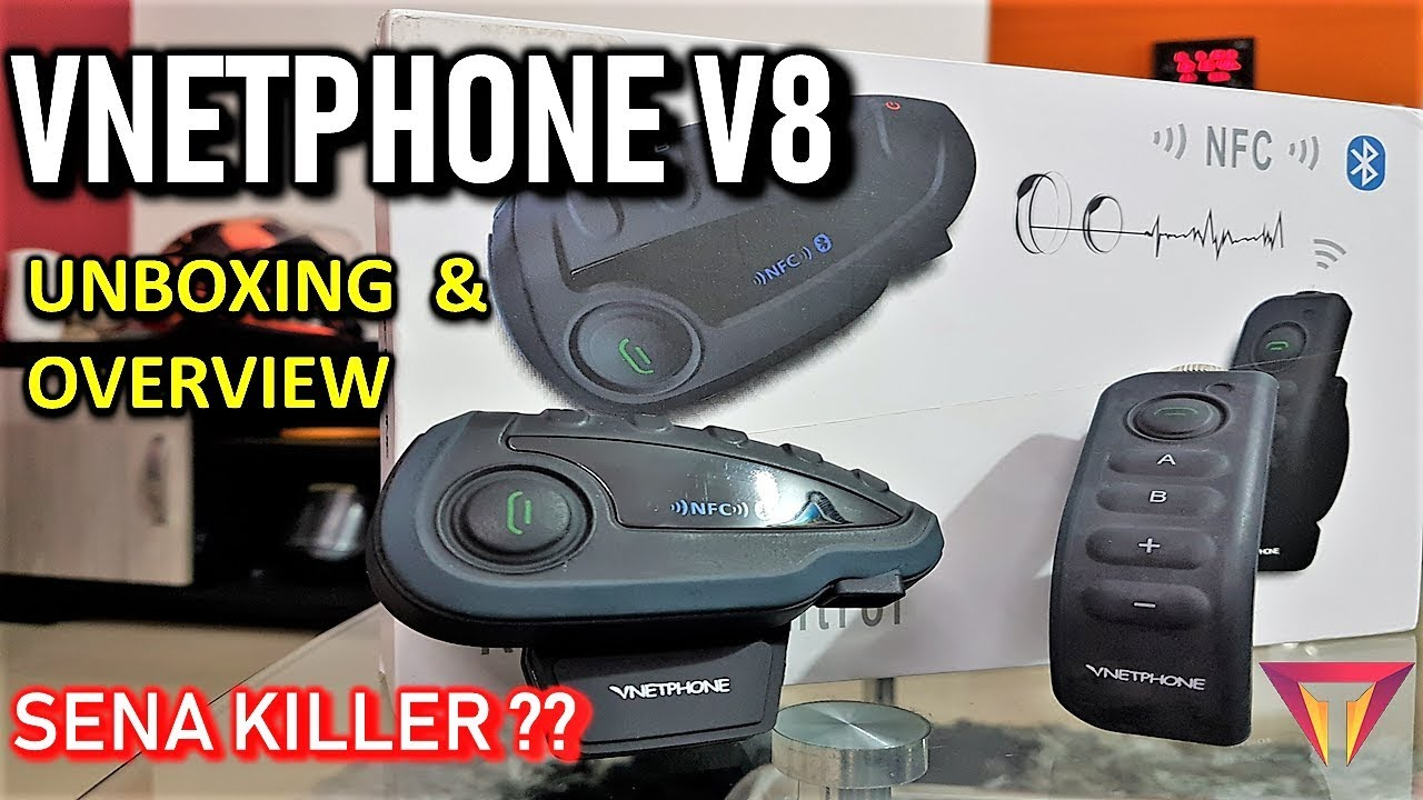 d77e32f0af2 VNETPHONE V8 | HELMET BLUETOOTH INTERCOM | SENA KILLER ? PART-1 ...