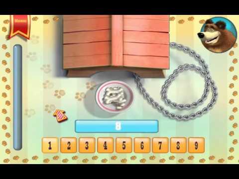 МАША И МЕДВЕДЬ. ИГРА для детей. Обзор игры для Android. Развивающий мультфильм.