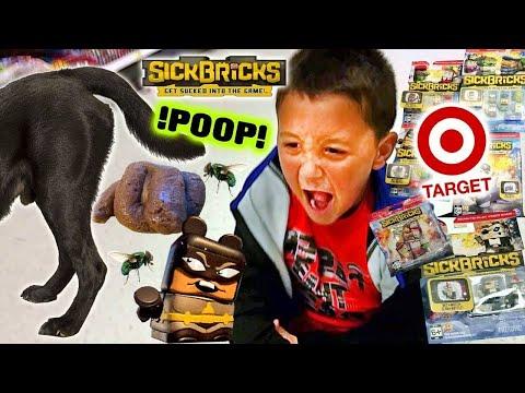 Dog Poop In Target! Sick Bricks Shopping & Unboxing (FGTEEV FAMILY TRIP to TARGET w/ CANDY!!!)