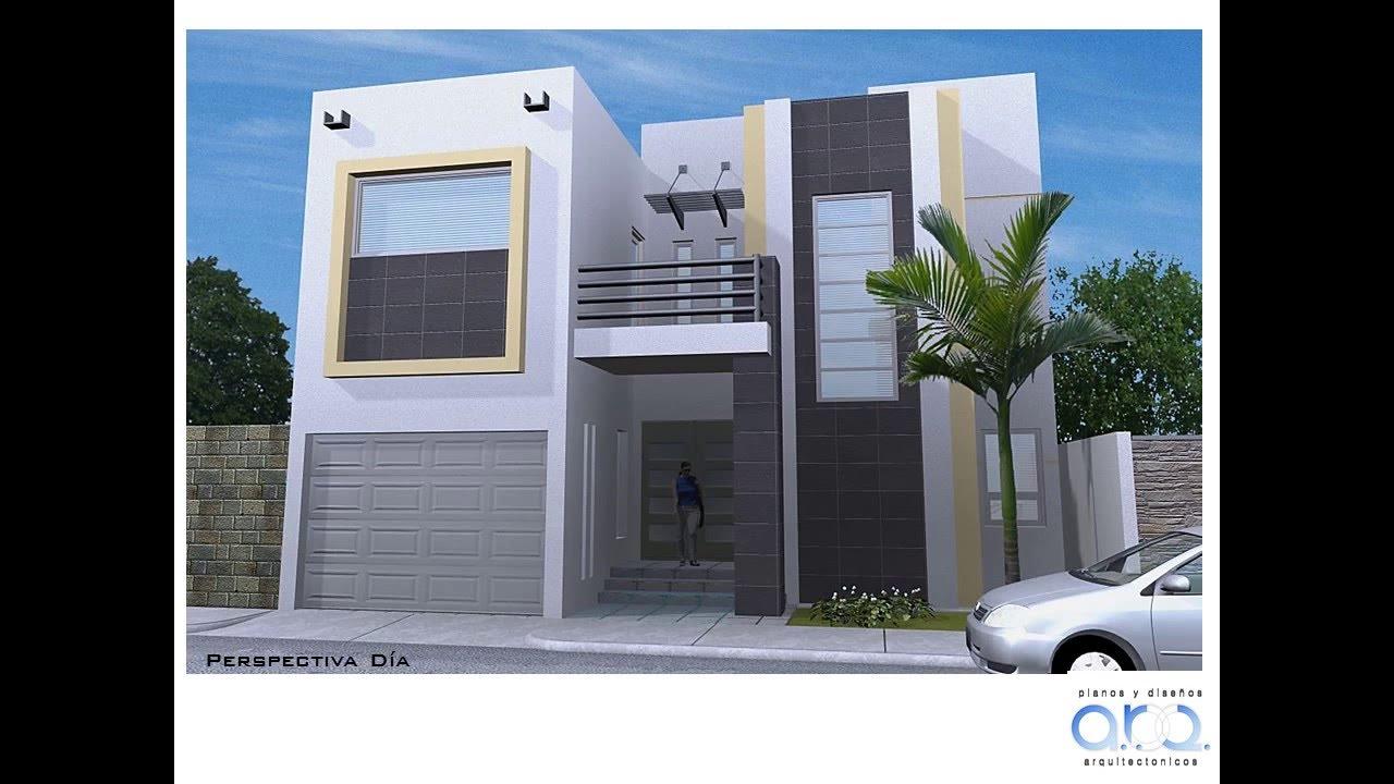 Plano de casa con sus medidas 358 mts2 youtube for Planos de casas con medidas