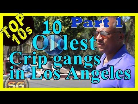 Top 10 Oldest Crip street gangs in Los Angeles (Part 1)