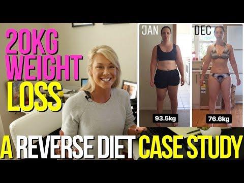 2Okg Weight Loss A reverse Diet Case Study