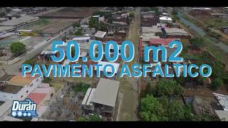 Alcaldía de Durán asfaltará las calles de ORAMAS GONZALEZ