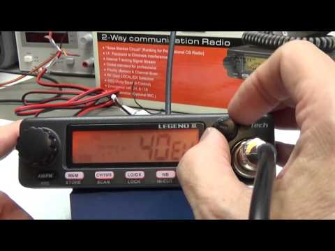 #71 CB Radio LAb Test: mTech Legend 3
