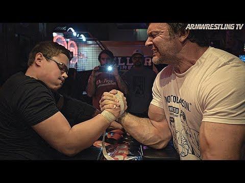 Schoolboy VS Devon Larratt & Toddzilla At Arnold's | ARM WRESTLING 2020