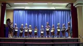 聖公會基愛小學懇親會表演 - 非洲鼓