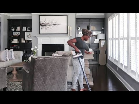 EXTRA SPECIAL FALL CLEAN WITH ME | DETAILED KITCHEN & LIVING ROOM | LG VACUUM
