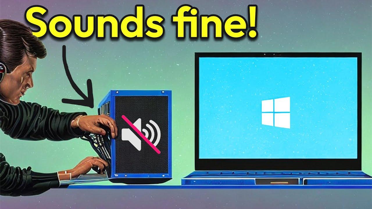 How to Fix Sound/Audio Problems on Windows 10 - FIX with NO Sound