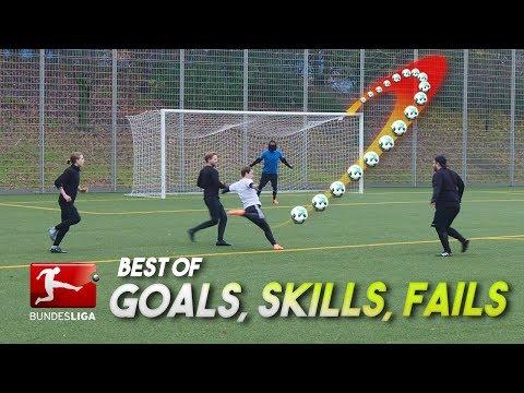 BEST BUNDESLIGA GOALS, SKILLS & FOULS 2017 - Recreated by freekickerz