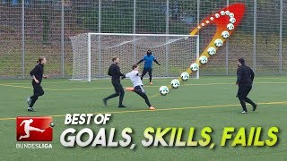 BEST BUNDESLIGA GOALS, SKILLS & FOULS 2017 - Recreated by freekickerz