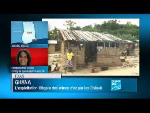Ghana| L'exploitation illégale des mines d'or par les chinois - FRANCE 24.