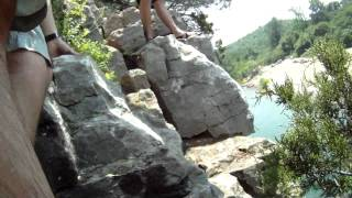 Cliff Jumping on the Buffalo River ~ Arkansas