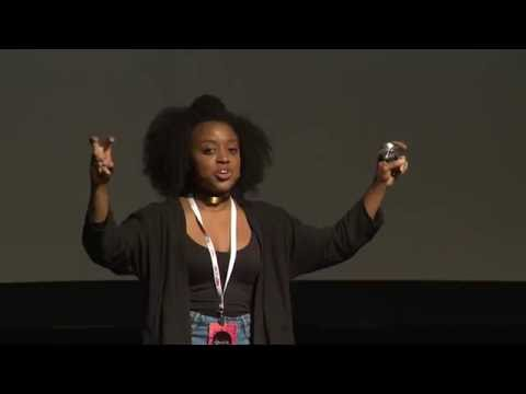Make I Like Myself, America and You Can't Stop Me. | Quinta Brunson | TEDxUCSD Images