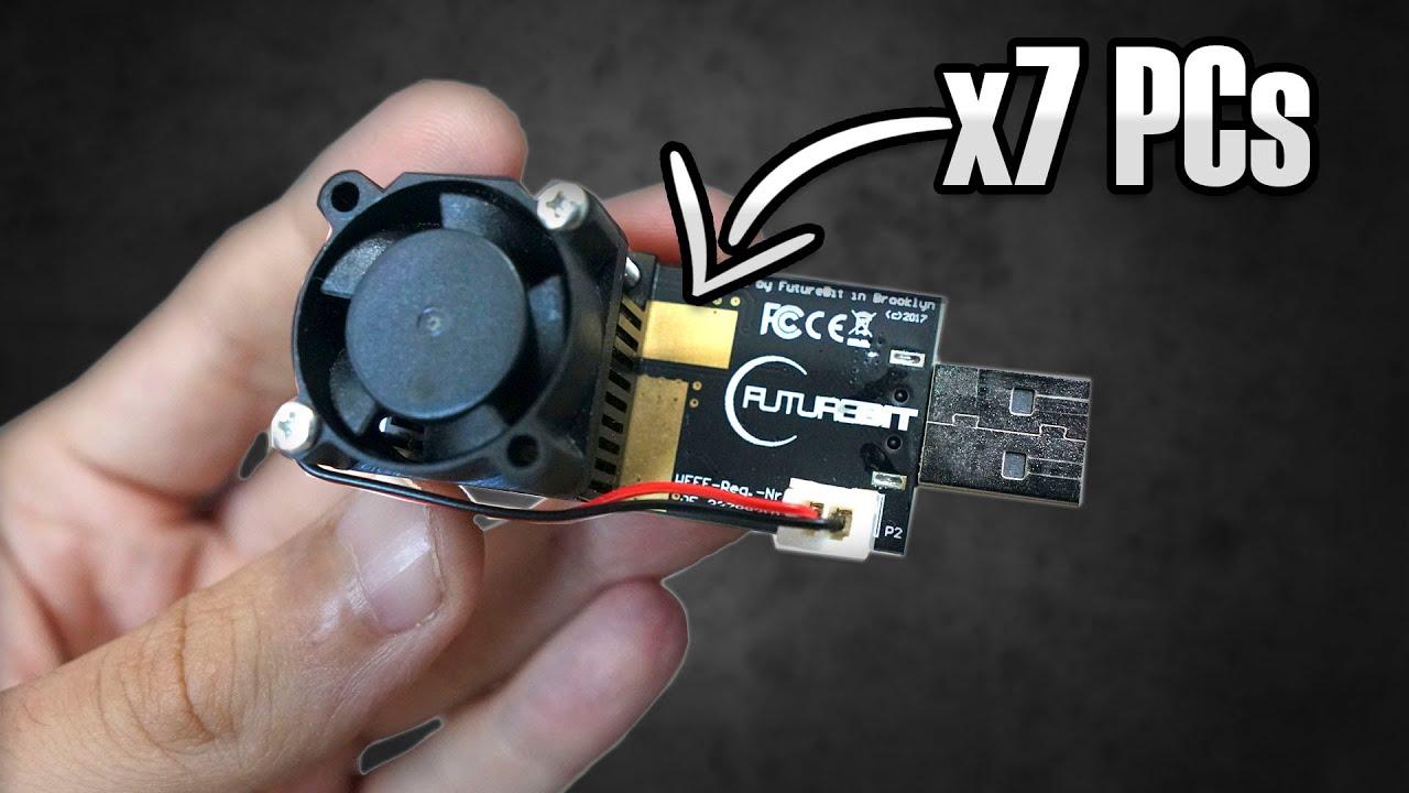 Este USB es más POTENTE que 7 ORDENADORES minando