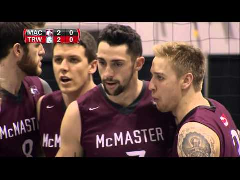 CIS Men's Volleyball Championship 2016 - Game 11 - Trinity Western vs McMaster 12_3_16