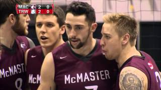 CIS Men's Volleyball Championship 2016 - Game 11 - Trinity Western vs McMaster 12_3_16 thumbnail